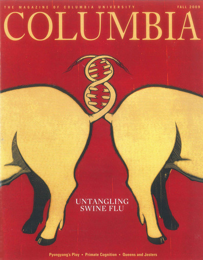 Fall 2009 cover of Columbia Magazine