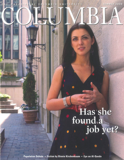 Cover of Summer 2009 issue of Columbia Magazine