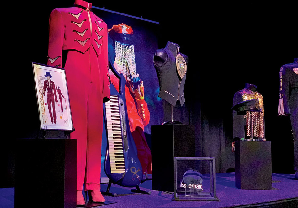 Artifacts from Prince's Emancipation album tour at Paisley Park